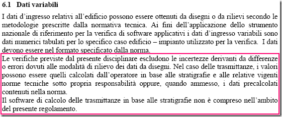 regolamento 6.1